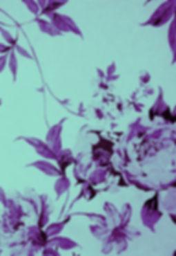 Tapisserie composée de fleurs -Shanti Massage