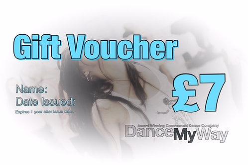 GIFT VOUCHER £7