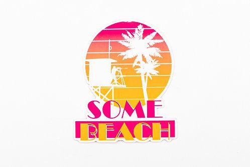 Sniper Beach sticker?