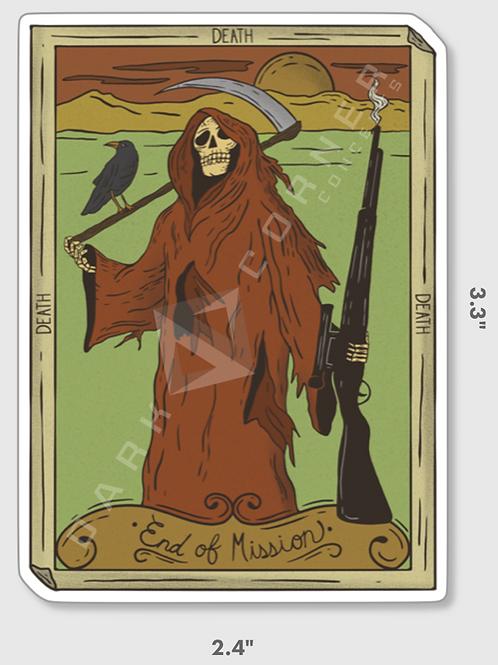 Tarot Card Sticker - Death