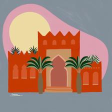 Digital Illustration -Marroco Serie