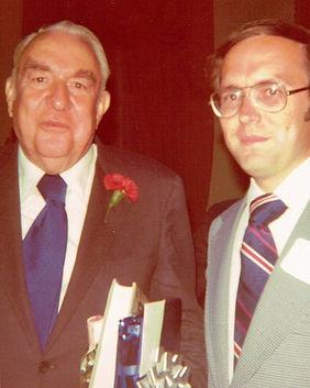 Charles Malone with Senator Sam Ervin