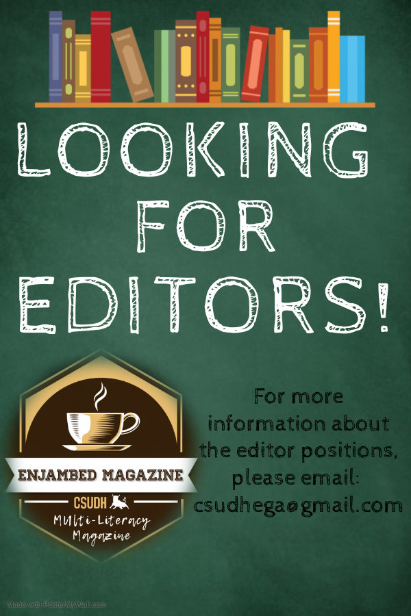 Enjambed editors - Made with PosterMyWal