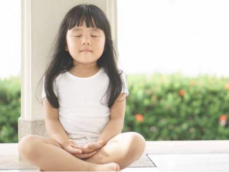 """""""Los niños pueden meditar solos a partir de los 5 años"""""""