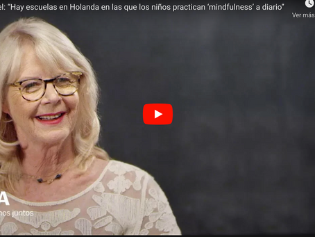 """Entrevista a Eline Snel: """"El 'mindfulness' enseña a niños, padres y educadores a relajarse"""""""