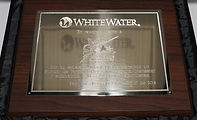 Placa WHITE WATER