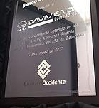 PLACA BANCO DE OCCIDENTE DAVIVIENDA.jpeg