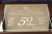 Placas Conmemorativas -  Premiación