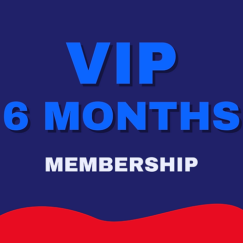 VIP 6 MONTHS UNLIMITED TRAINING