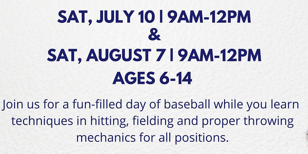 AUGUST 7 Free Baseball Clinic Orlando