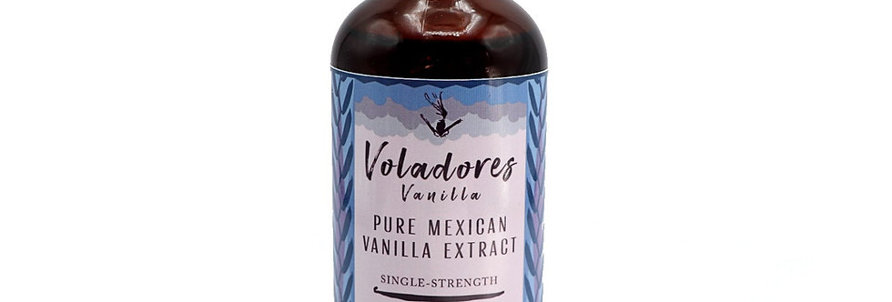 Pure Mexican Vanilla Extract (Single-Strength)