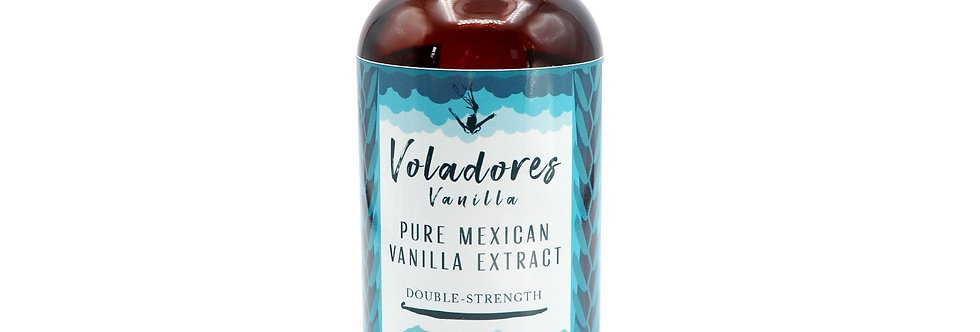 Pure Mexican Vanilla Extract (Double-Strength)