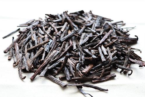 Mexican Vanilla Bean Pieces, Planifolia Variety