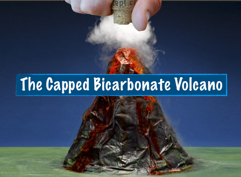 The Capped Bicarbonate Volcano