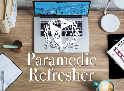 FOAMfrat Paramedic Refreshers and Subscription!