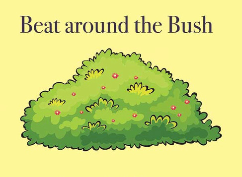 Beating around the Bush(and why it doesn't help.)