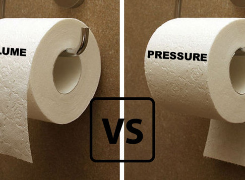 The Volume vs. Pressure Debate