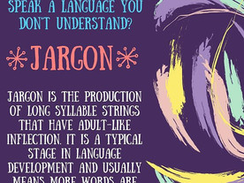 Pop of Knowledge: Jargon!