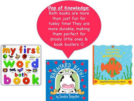 Pop of Knowledge: Bath Book Trick!