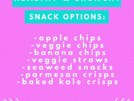 Pop of Knowledge: Healthy & Crunchy Snack Options!