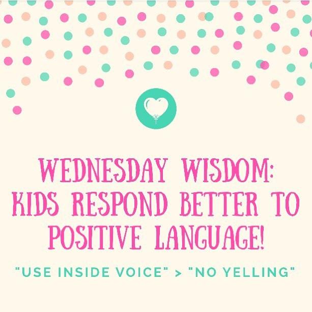 Pop of Knowledge: Positive Language!