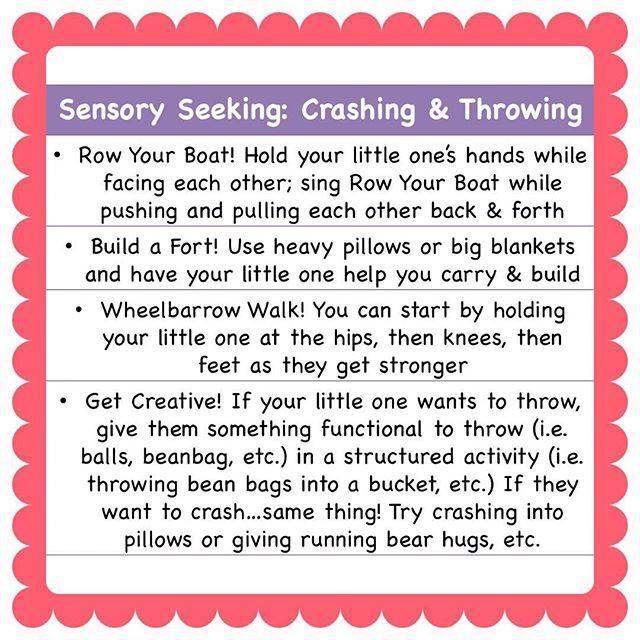 Pop of Knowledge: Sensory!