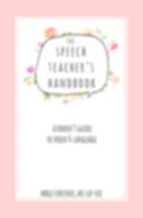 The Speech Teacher's Handbook