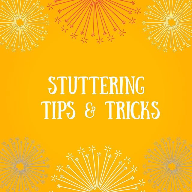 Pop of Knowledge: Stuttering!