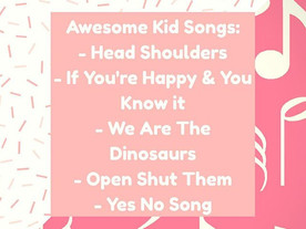 Pop of Knowledge: Kid Songs!