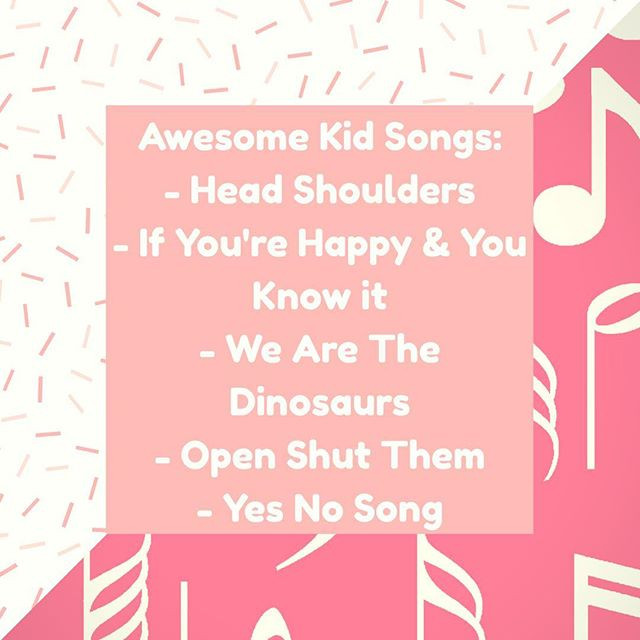 Pop of Knowledge: Kid Songs!