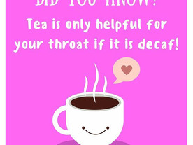 Pop of Knowledge: Tea Fact!