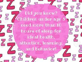 Pop of Knowledge: Sleep!