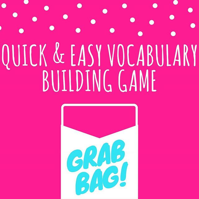 Pop of Knowledge: Vocab Building!