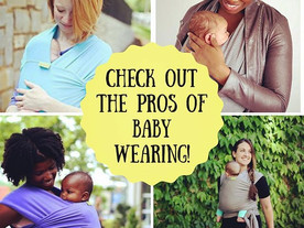 Pop of Knowledge: Baby Wearing!