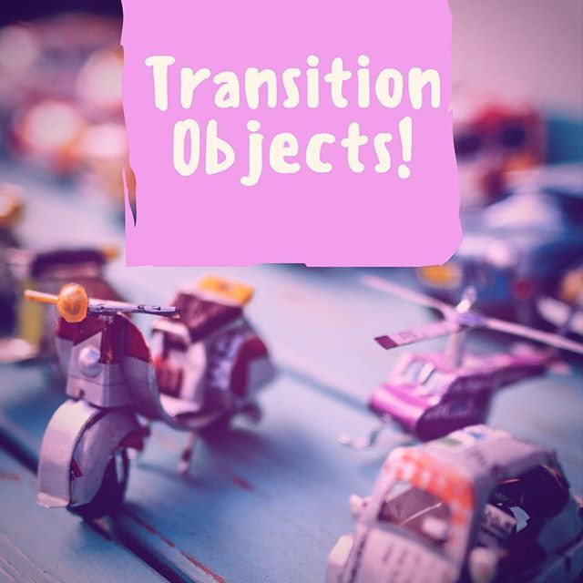 Pop of Knowledge: Transition Objects!