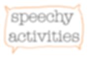 Speech activities from The Speech Teacher