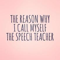 Pop of Knowledge: The Speech Teacher!