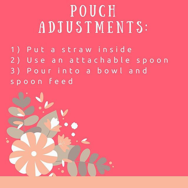 Pop of Knowledge: Pouch Adjustments!
