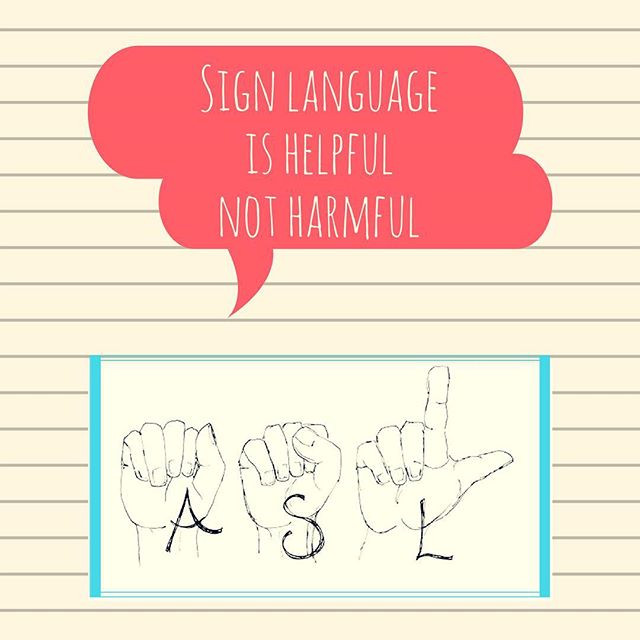 Pop of Knowledge: Sign Language is Helpful!