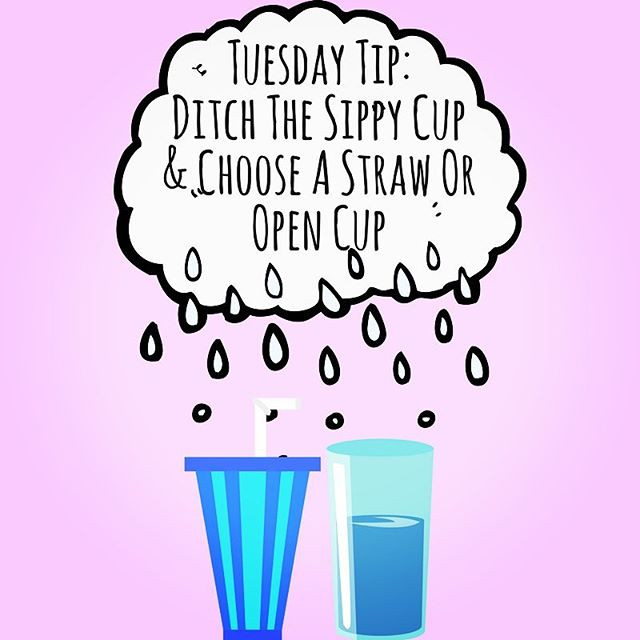 Pop of Knowledge: Ditch the Sippy Cup!