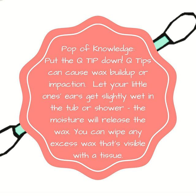 Pop of Knowledge: Q Tips!
