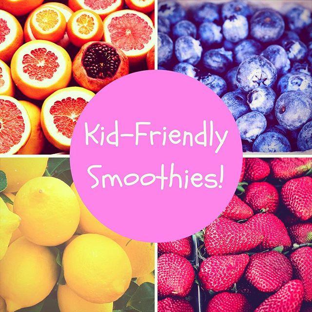 Pop of Knowledge: Kid-Friendly Smoothies!