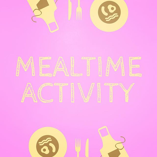 Pop of Knowledge: Mealtime Activity!