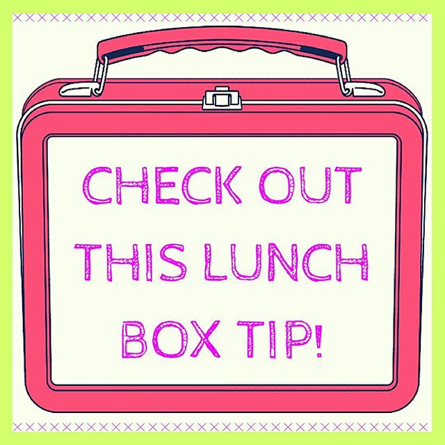Pop of Knowledge: Lunch Box Tip!