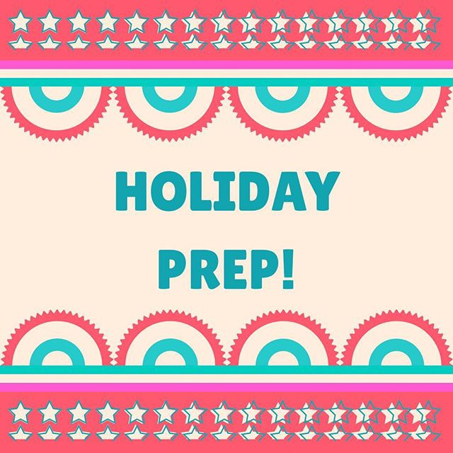 Pop of Knowledge: Holiday Prep!