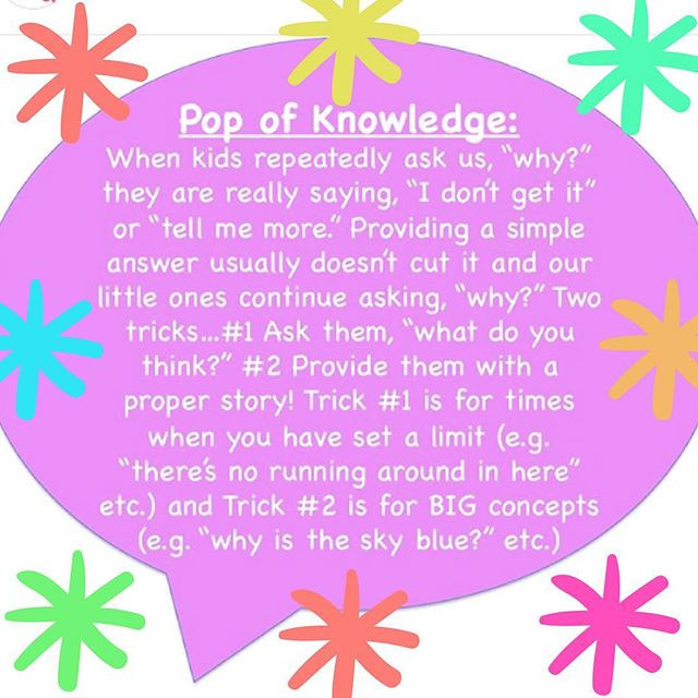 Pop of Knowledge: Why?