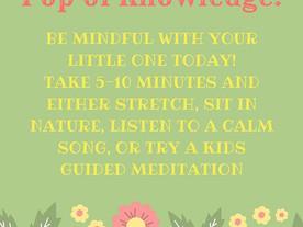 Pop of Knowledge: Mindfulness!