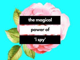 Pop of Knowledge: I Spy!