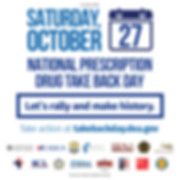 National Prescription Drug Takeback Day