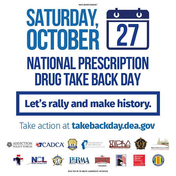National Prescription Drug Takeback Day